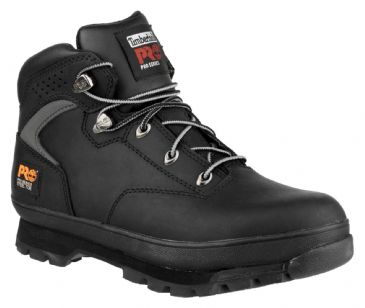 Timberland PRO Eurohiker Boot with Steel Midsole (Black) 6201064